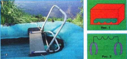 Надувное кресло в лодку своими руками 110